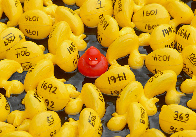 Content marketing means you must be different from everyone else