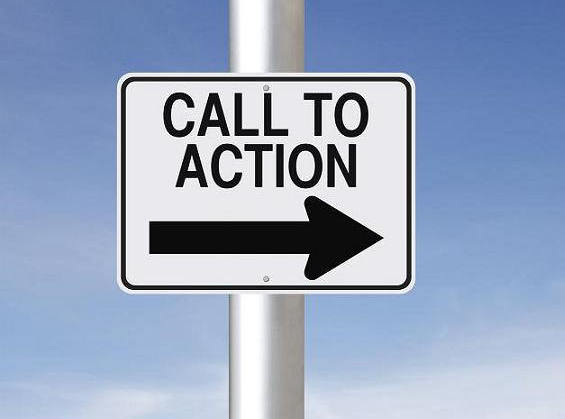 A call to action is a necessary part of product marketing