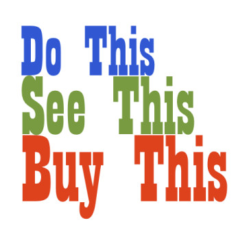 Do This See This Buy This is a SteveFeyer.com feature about great products and services for marketers