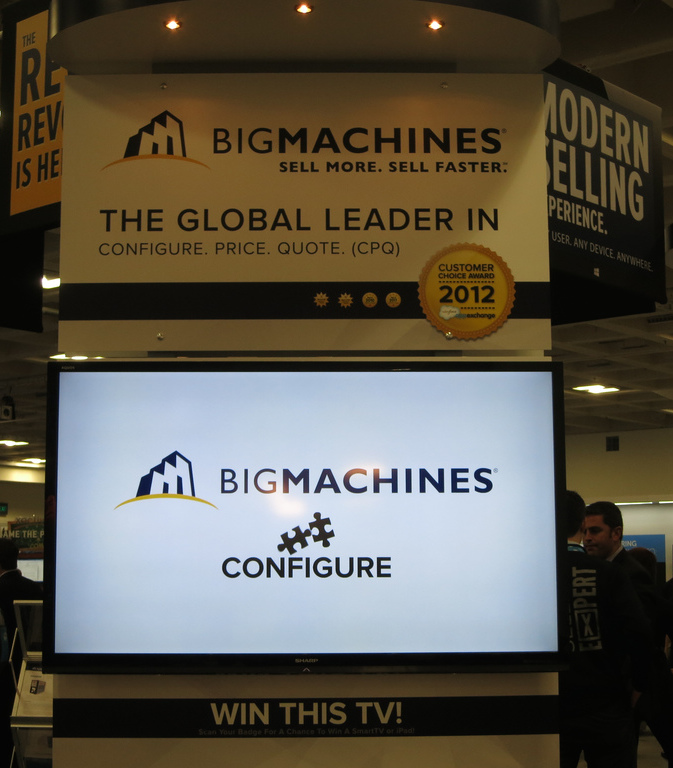 BigMachines at Dreamforce 2013