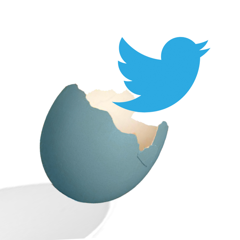 twitter bird is marketing good stuff