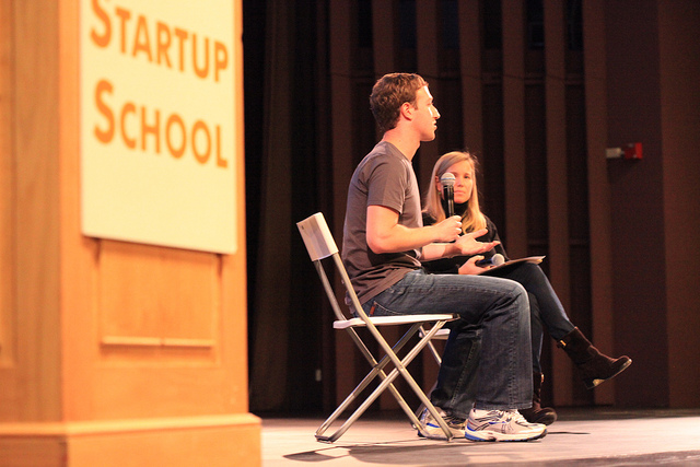 Mark Zuckerberg gives 5 startup tips